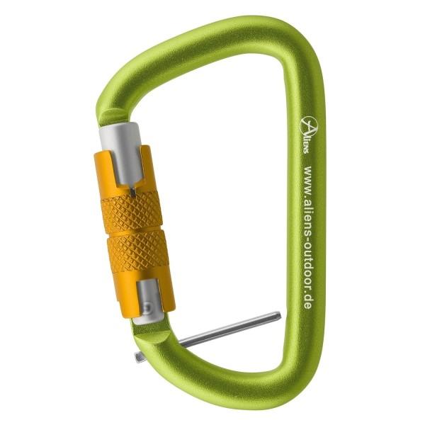 Aliens Karabiner Accessory D-Form Twistlock + Pin