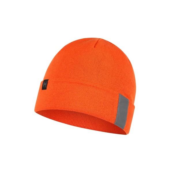 Buff Polar Strick-Mütze Reflective ORANGE FLUOR
