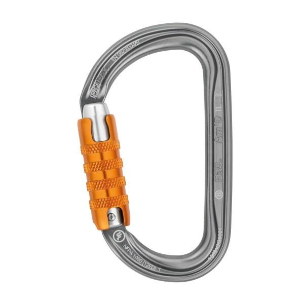Petzl Am''D Triact-Lock Karabiner, Silber