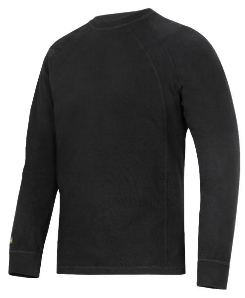 Snickers 2402 LS T-Shirt schwarz L