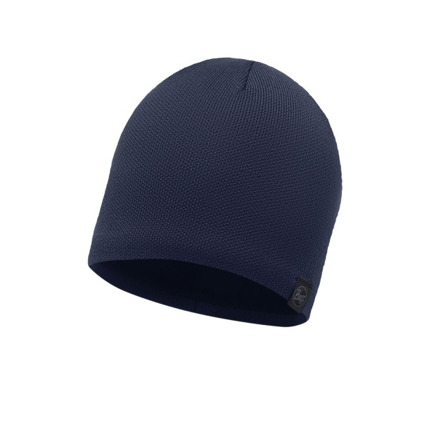 Buff Knitted & Polar Hat SOLID DARK NAVY