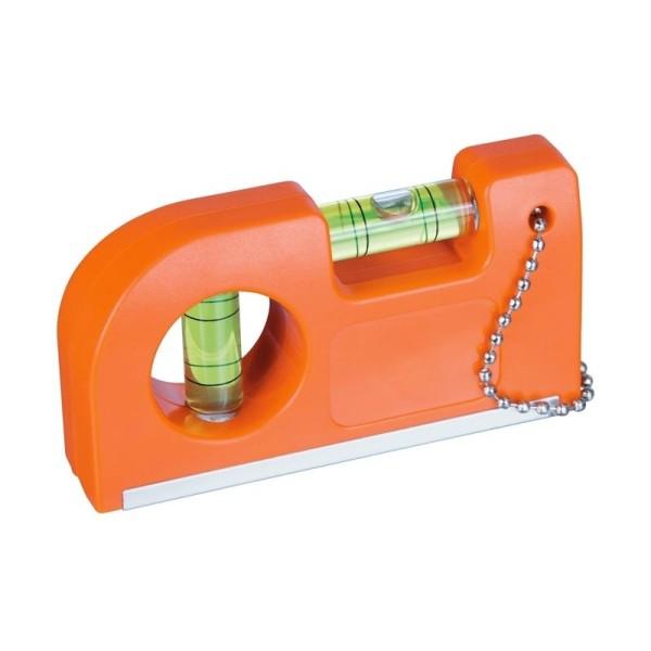Wasserwaage mit Magnet und Clip