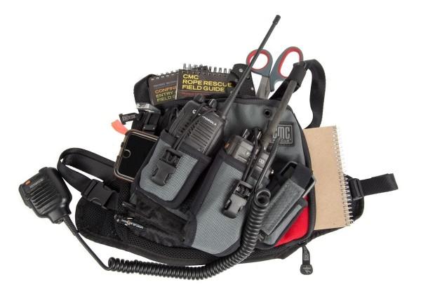 CMC Rescue DualCom Radio Harness Funkgeräteholster