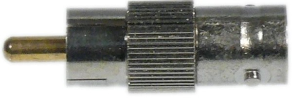 BNC-Adapter.BNC-male auf Cinch-male