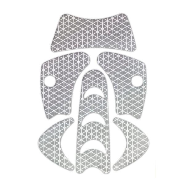 Kask Aufkleber-Set für Plasma AQ, Silber reflektierend