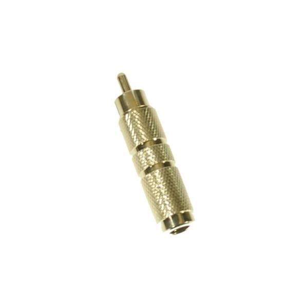 Klinke - Cinch Adapter - Metall