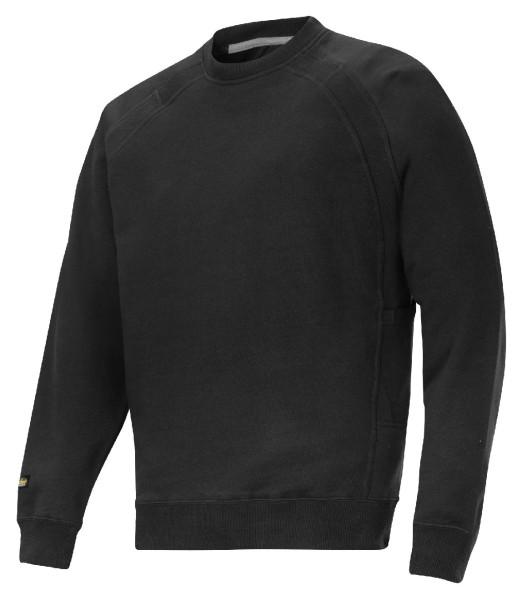 Snickers 2812 Sweatshirt Heavy Duty schwarz XS