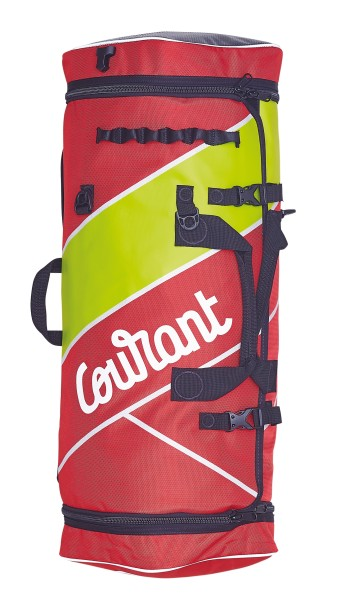 Courant Cross Pro Material-Rucksack 54l Rot