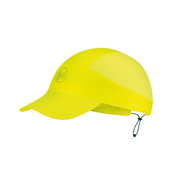 Buff Pack Run Cap Patterned SOLID YELLOW FLUOR