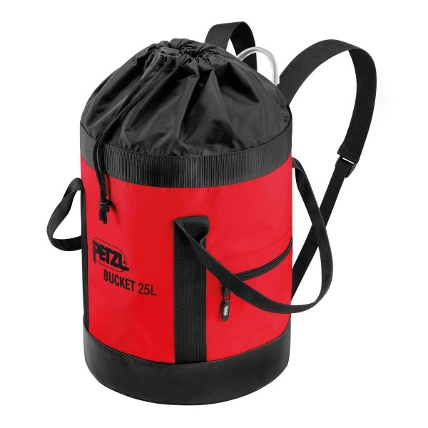 Petzl Bucket Materialrucksack Rot 25 L