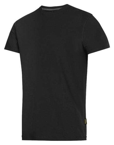 Snickers 2502 T-Shirt schwarz XS
