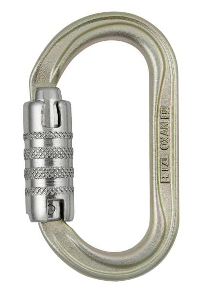 Petzl Oxan Triact-Lock Stahl-Karabiner ANSI