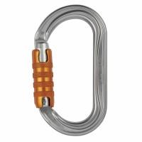 Petzl OK Karabiner oval Auto-Lock | Silber