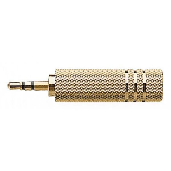 Klinke Adapter 3,5 mm Stecker auf 6,3 mm Buchse