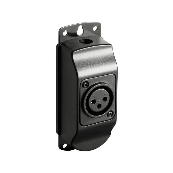 Montagesockel für Schwanenhalsleuchten 3-Pol XLR