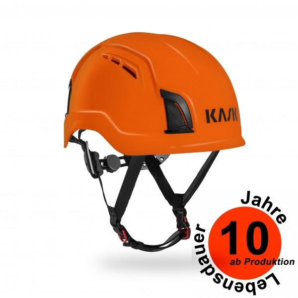 Kask Zenith PL - EN 12492 Kletterhelm Orange Baujahr 2018
