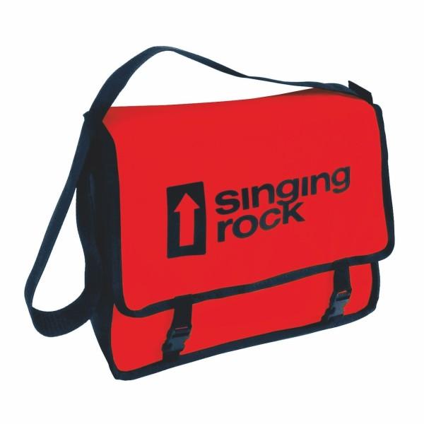 Singing Rock Umhänge-Tasche Monty-Bag, 8,4 l, Rot