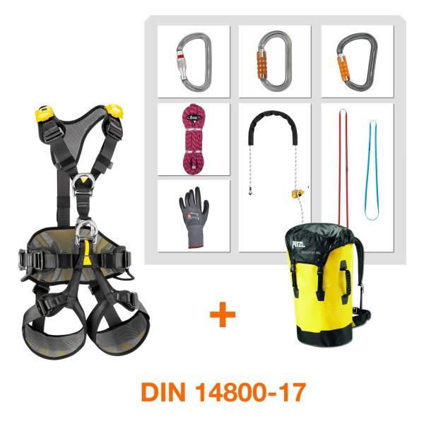 Gerätesatz Absturzsicherung DIN 14800-17 Petzl