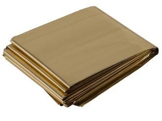 SIRIUS Rettungsdecke silber/gold 210 x 160 cm