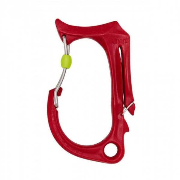 Courant Honos Materialkarabiner L Rot