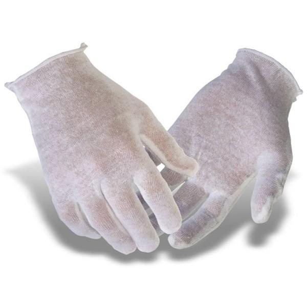 Baumwollhandschuhe 12er Pack