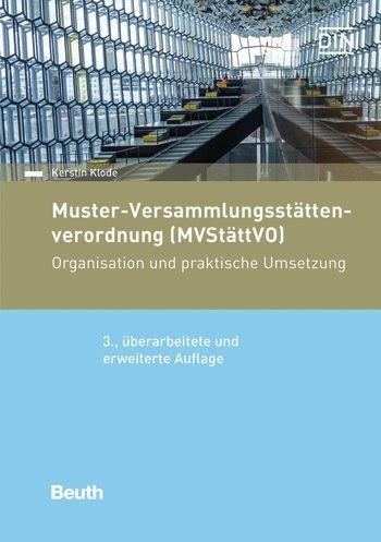 Muster-Versammlungsstättenverordnung 3. Auflage