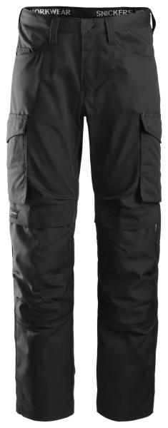 Snickers 6801 Service Hose mit Knee Guard schwarz