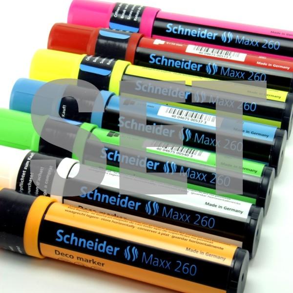 Schneider Deco-Kreide-Marker Maxx 260 SET 7 Farben