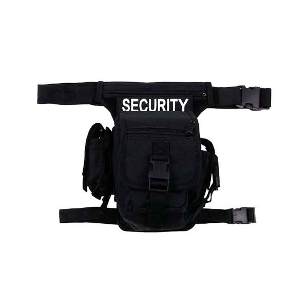 """Hip Bag """"Security"""" schwarz, Bein- und Gürtelbefest"""