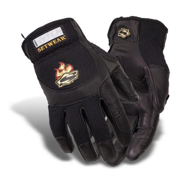 Setwear Pro Leather Gloves (schwarz) L