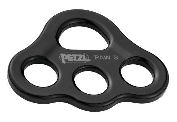 Petzl Paw Riggingplatte Schwarz Gr. S