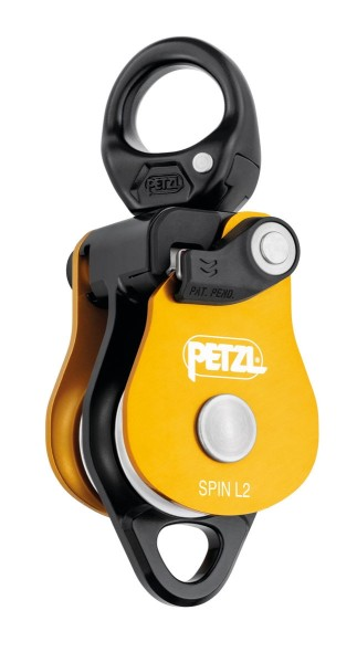 Petzl Spin L2 Doppel-Seilrolle Farbig