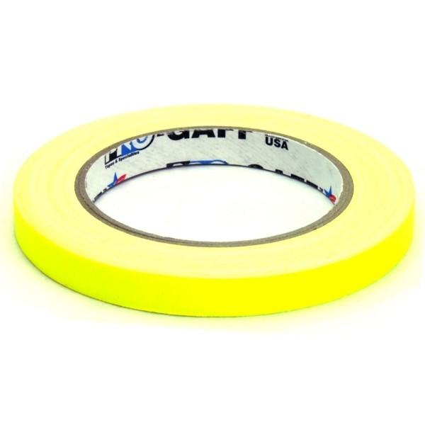ProTape Fluorescent Yellow 12mm x 22m
