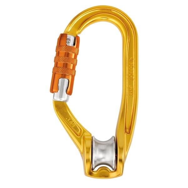Petzl Rollclip A Triact-Lock Karabiner + Seilrolle