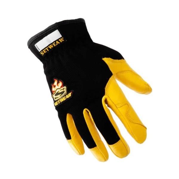 Setwear Pro Leather Gloves (braun) L
