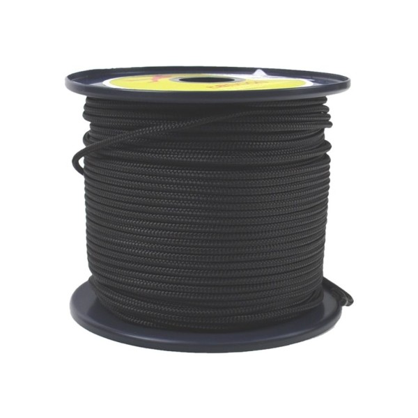 Tendon Reepschnur 3 mm schwarz 100 m Rolle