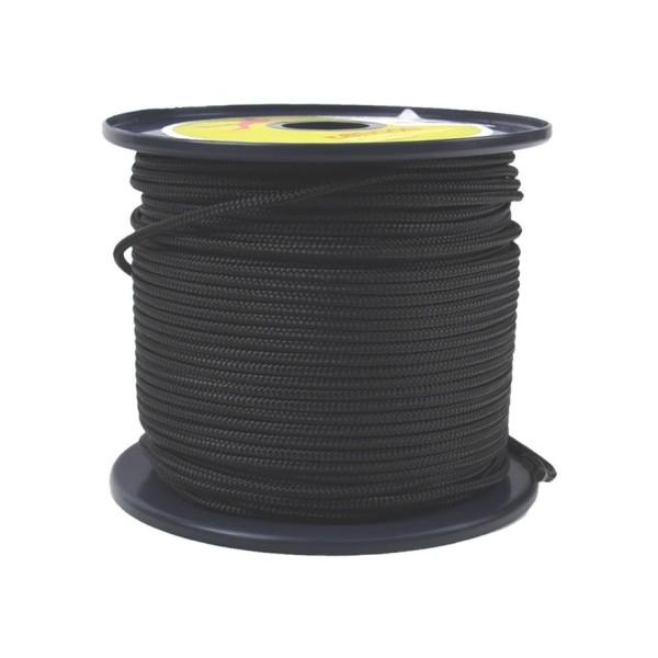 Tendon Reepschnur 2 mm schwarz 100 m Rolle