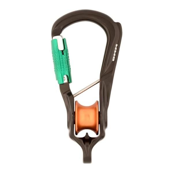 DMM Revolver Rig Locksafe Karabiner und Seilrolle