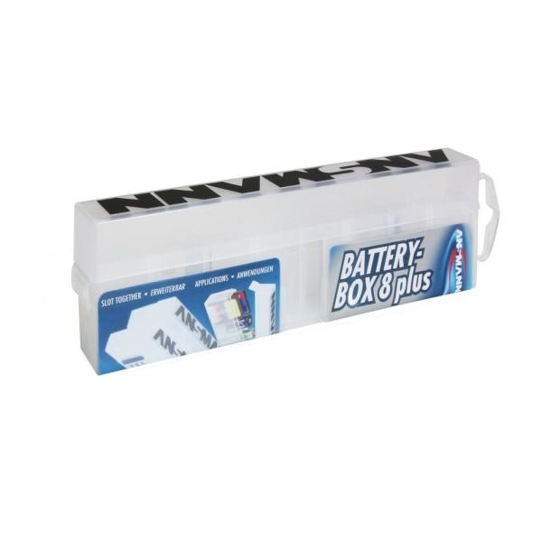 Batterie-Box zur Aufbewahrung von 8 AA Batterien