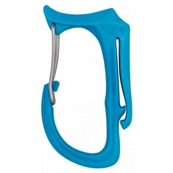 Courant Honos Materialkarabiner S Blau