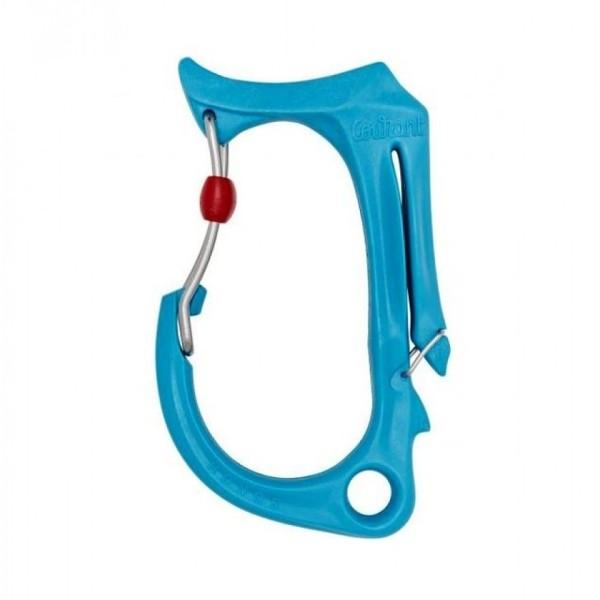 Courant Honos Materialkarabiner L Blau
