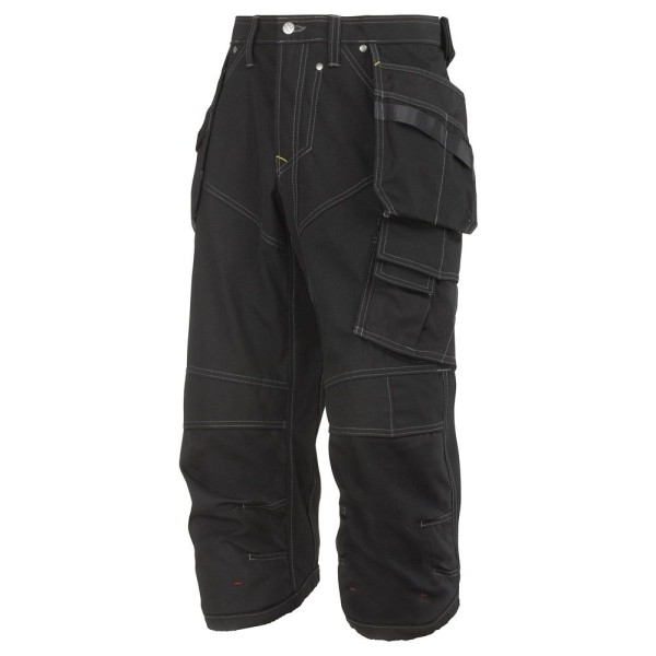 Snickers 3923 Piratenhose HP, RipStop, schw 44