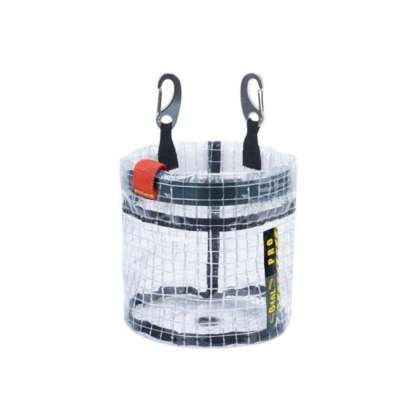 Beal Glass Bucket, transparente Materialtasche