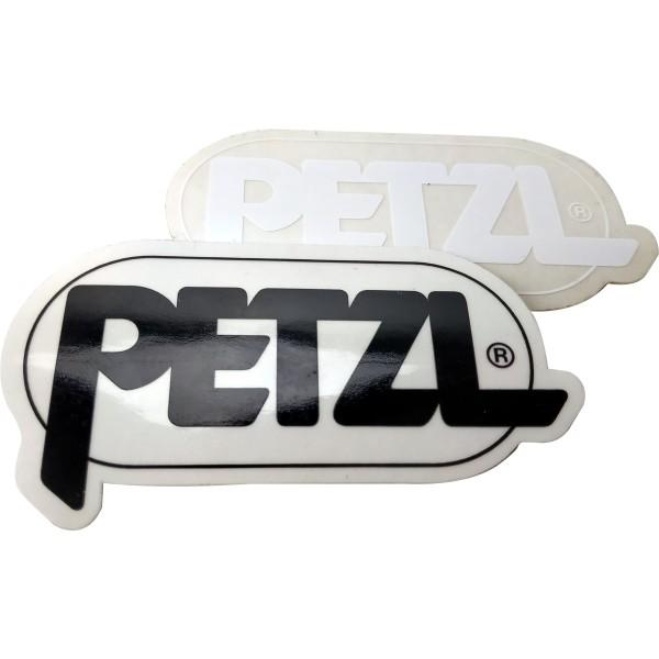 Petzl Aufkleber weiß