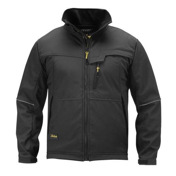 Snickers 1212 Softshell Jacke, schwarz XL